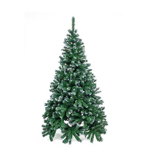HOME Christmas Árbol Navidad, PVC, Verde, 180cm