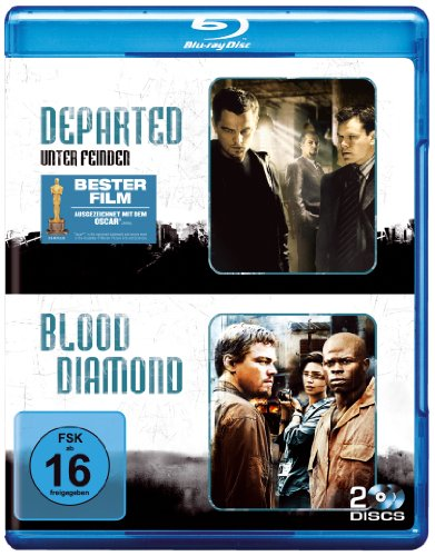 Departed - Unter Feinden & Blood Diamond (2 Discs) [Blu-ray]