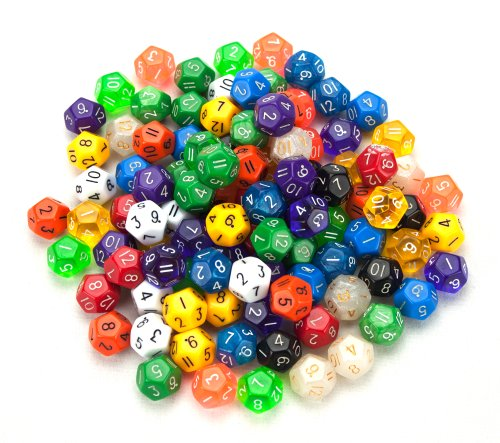 12 sided dice - 6