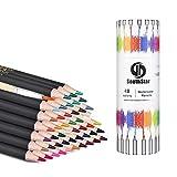 Crayons D'aquarelle, SouthStar 48pcs Crayons de Couleur Crayons Aquarellables Idéal pour L'aquarelle, Le Coloriage et L'art Thérapie,Parfait pour Les Coloriages Mystères et Coloriage pour Adulte