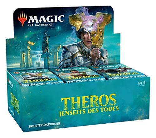 Magic The Gathering - Theros Jenseits des Todes - Boosters / Displays Auswahl | DEUTSCH | Sammelkartenspiel TCG, Booster:6er