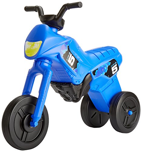 Kiddie Bikes, Ride-on Toddler Trike, Push along foot-to-floor motorbike(for ages 2-5, Maxi Blue)