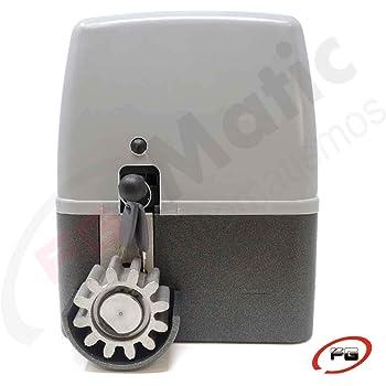 Motor para puerta o cancela de garaje corredera de hasta 400 Kg. Modelo: VDS GEKO 400K. Placa de control alojada en el interior del motor.: Amazon.es: Bricolaje y herramientas