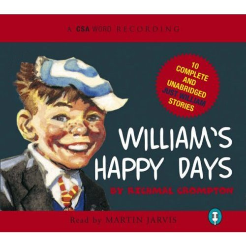 William's Happy Days audiobook cover art