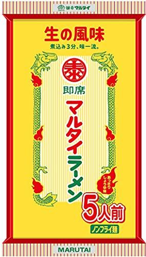 マルタイ マルタイラーメン 5食入×12個入 棒ラーメン