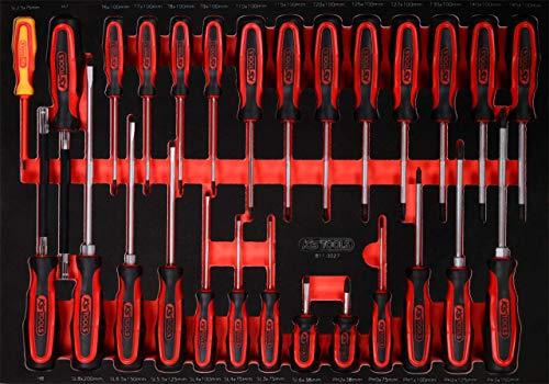 KS Tools 811.0027 PERFORMANCEplus - Juego de herramientas (27 piezas)