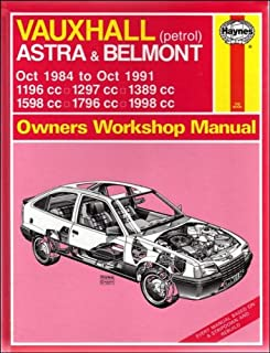 Vauxhall Astra and Belmont Owners Workshop Manual ...