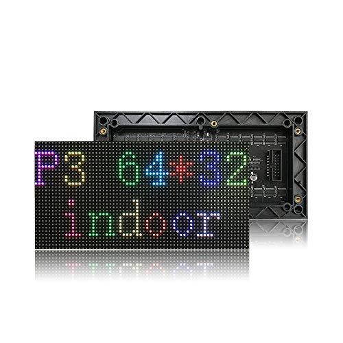 P3 RGBピクセルパネルHDディスプレイ64 x 32ドットマトリックスp3 smd rgb ledモジュール