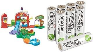 VTech Go! Go! Smart Animals Grow and Learn Farm with AmazonBasics AA Batteries Bundle