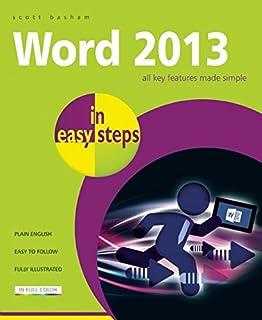 Word 2013 in Easy Steps