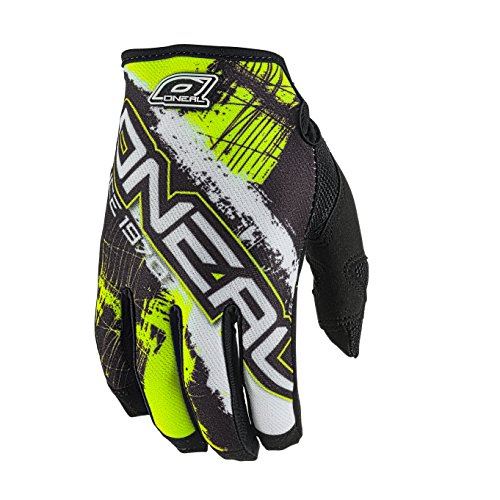 O 'Neal Handschuhe Jump Shocker, Fahrrad, Herren L Schwarz/Neongelb