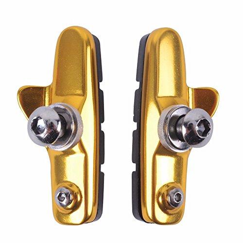 Mulple Fahrradteile bremsen, Zum Falten von Fahrrad Bremsbacken, für K7 Teile C Bremssättel, Leichte Rennradteile, Golden