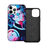 Hisoka Hunter x Hunter Phone Cases for IP12-6.1,4 Size Case for iPhone 12 or iPhone 12 Pro or iPhone 12 Mini or iPhone 12 Pro Max Shell Back Cell Mobile Cover Protective Case with TPU+PC Frame