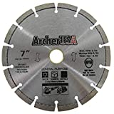 Archer Pro 7' in. General Purpose Diamond Saw Blades for Fast Cutting...