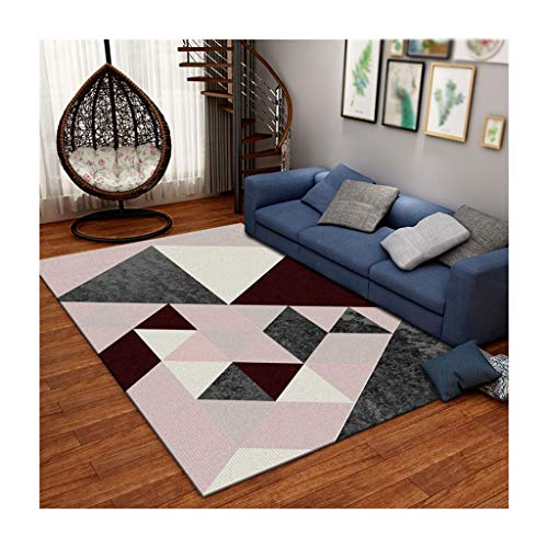 LYM # woonkamertapijt, geometrie, huis, woonkamer, bank, tapijt, woonkamer, modern, strak, nachtkastje, Scandinavische stijl