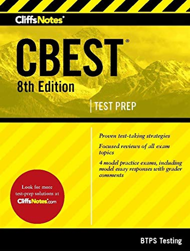 CliffsNotes CBEST, 8th Edition