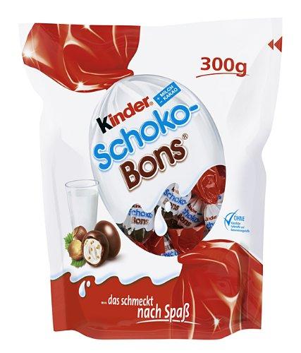Ferrero Kinder Schoko Bons 300 g (Paquete de 4)