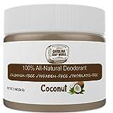 All-Natural Handmade Deodorant by Carolina Soap Works, No Aluminum, No...