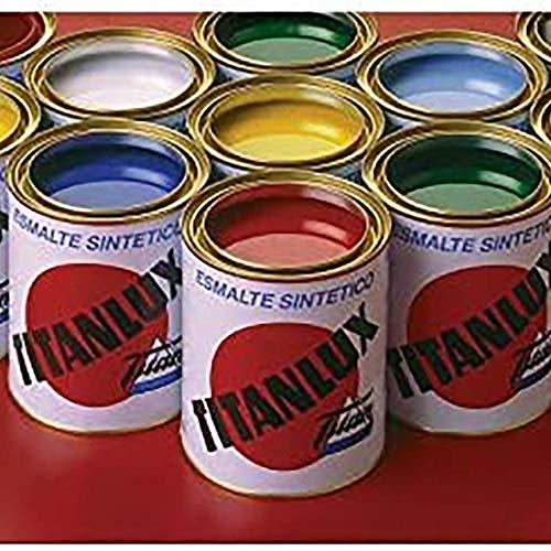 Titan 001058734 Esmalte Sintético, Ocre, 750 ml