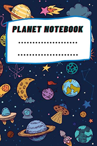 Planet Notebook: Composition Book Planets