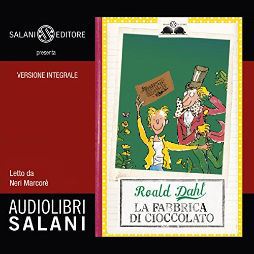 La fabbrica di cioccolato                   By:                                                                                                                                 Roald Dahl                               Narrated by:                                                                                                                                 Neri Marcorè                      Length: 3 hrs and 10 mins     8 ratings     Overall 5.0