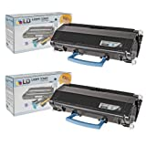 LD Compatible Dell 330-8985 (V99K8) Set of 2 High Yield Black Toner Cartridges for Your Dell 3333dn/3335dn Printers