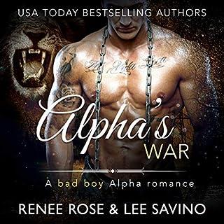 Alpha's War: A Bad Boy Alpha Romance cover art