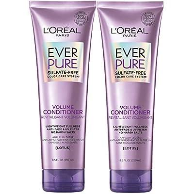L'Oreal Paris EverPure Volume Sulfate Free Shampoo for Color-Treated Hair, Volume + Shine for Fine
