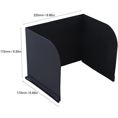 Favrison 10.5inch L220 Monitor Sun Shade Tablets Pad Hood for DJI Phantom 4/3,Mavic Pro,Inspire,OSMO,M600 Monitor Remote Controller