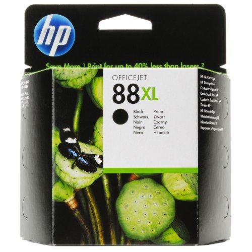 HP 88XL Schwarz Original Druckerpatrone mit hoher Reichweite für HP Officejet Pro