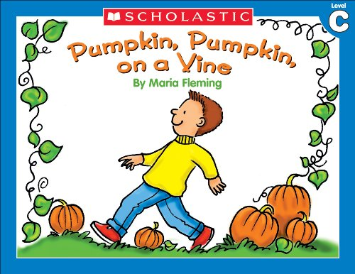 Little Leveled Readers: Pumpkin, Pumpkin On A Vine (Level C) (English Edition)