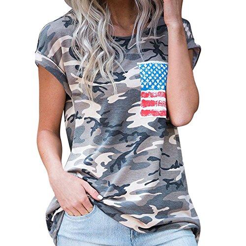 Sommer T-Shirt/Oberteile Kurzarm - Damen