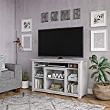 Ameriwood Home Edgewood TV Stand for TVs up to 55' - Dove Gray