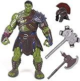 WIJJZY Gladiador Hulk Anime Action Figure Collectible Modelo Carácter PVC Figuras Estatua Toys Modelo de Escritorio Regalo de cumpleaños Estatua Colección de decoración