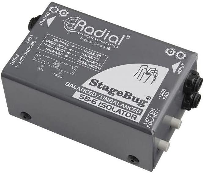 Radial Max 65% OFF Ranking TOP16 Engineering StageBug DI Isolator SB-6