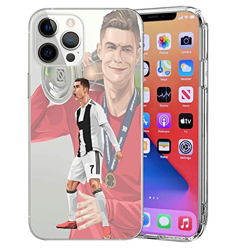MIM Global Football Futbol Soccer Protectores Case Cover Compatible para Todos iPhone (iPhone 11 Pro MAX, SUI 2)