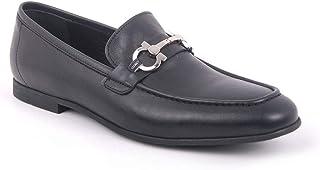 Chaussures à boucle pour homme en cuir 56-43885 Classique, monk, chaussures de costume,