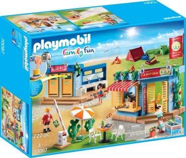Playmo PLAYMOBIL®-Großer Campingplatz 3er-Set (Art. 70087 ; 70088; 70089)