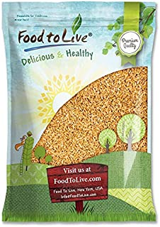 Whole Freekeh, 5 Pounds — Whole Grain, Vegan, Roasted Green Wheat, Healthy Ancient Supergrain Farik, High in Protein and Dietary Fiber, Bulk Frikeh, Product of the USA