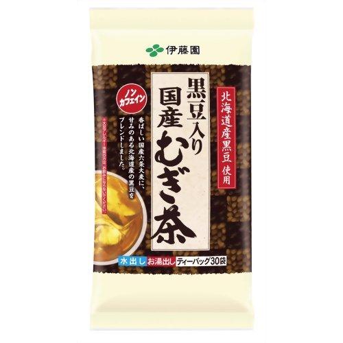 伊藤園 「黒豆入り国産むぎ茶 ティーバッグ」