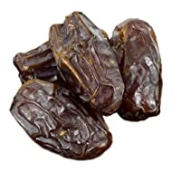 Anna and Sarah Organic Medjool Dates, 3 Pound Bag, No Sugar Added Natural Dried Dates in Resealable Bag, 3 Lbs