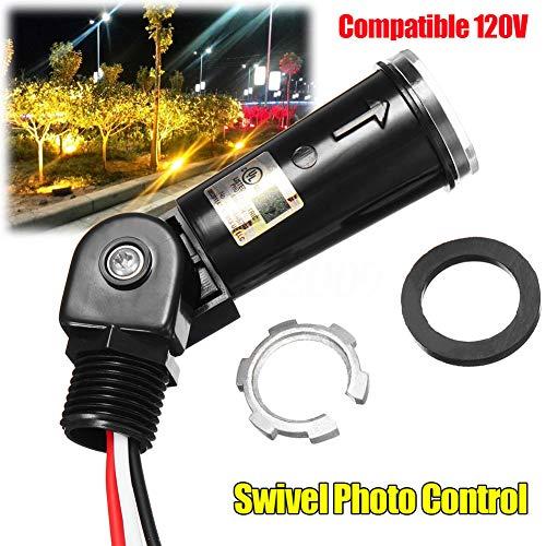 Goodtimes28 Clearance Deals Compatible LED 120 V Soir au Matin extérieur pivotant Light Control Cellule photoélectrique commutateur
