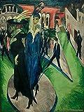 Art-Galerie Digitaldruck/Poster Ernst Ludwig Kirchner -