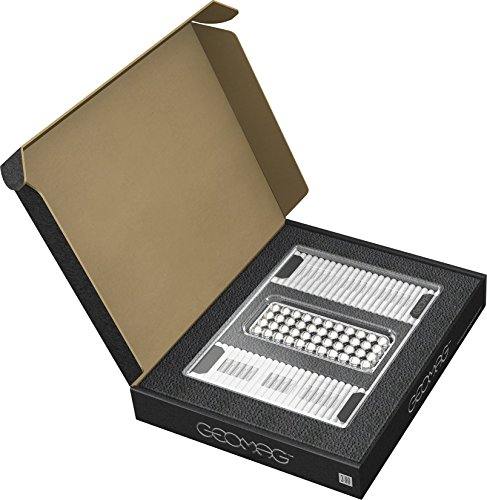GEOMAG Masterbox Large 181 - Magnetstäbe Spielzeug - Weiß - 248-teilige Box