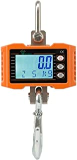 Hyindoor Crane Scale Digital Industrial Heavy Duty Scale Smart High Accuracy Electronic Hanging Scale (300kg/600lb)