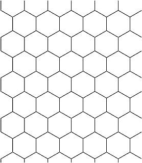 MULLSAN White Honeycomb Vinyl Film Self-Adhesive PVC Wall Paper 24''x118'' Roll