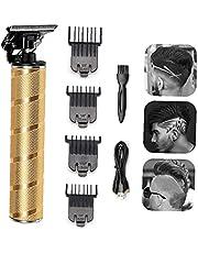 Elektrisk T – huvud elektrisk hårklippare trådlös trimmer graveringsmärken elektriska saxar trimma och tryck vitt hår mode saxar trim