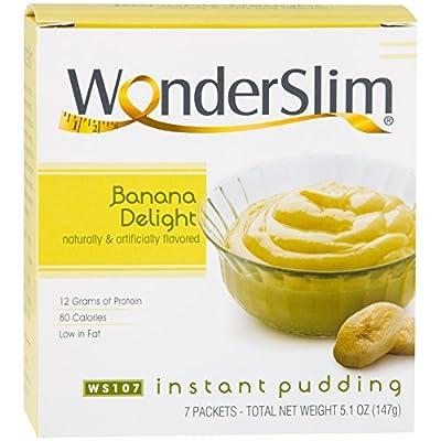 WonderSlim Protein Instant Diet Pudding
