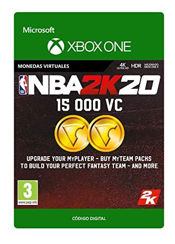 NBA 2K20: 15,000 VC | Xbox One - Código de descarga