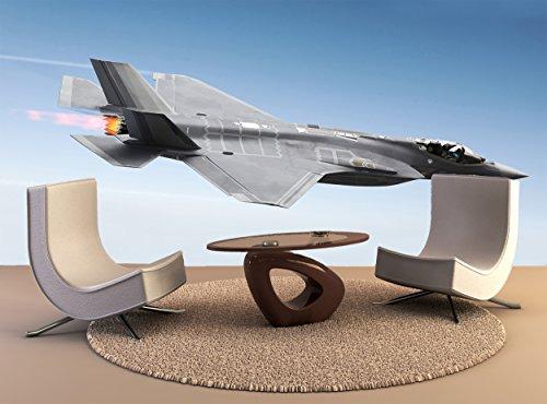 Fotobehang F-35 Een Bliksem Vliegtuig Muurdecoratie Fotobehang Poster Hoge Kwaliteit Print
